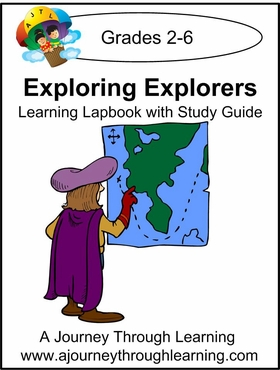 Exploring Explorers Lapbook with Study Guide-8.00