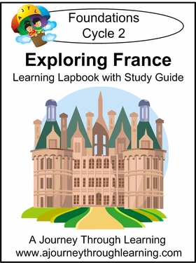 Exploring France for Foundations Cycle 2 Lapbook-8.00