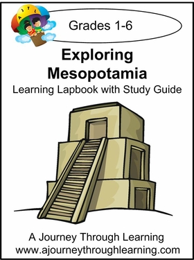 Exploring Mesopatamia Lapbook for Foundations--8.00