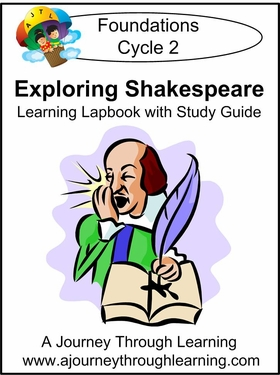 Exploring Shakespeare for Foundations Cycle 2 Lapbook-8.00
