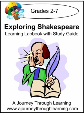 Exploring Shakespeare Lapbook with Study Guide-8.00