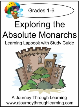 Exploring the Absolute Monarchs for Foundations Cycle 2 Lapbook -8.00