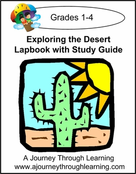 Exploring the Desert Lapbook with Study Guide