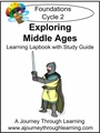 Exploring the Middle Ages for Foundations Cycle 2 Lapbook-8.00