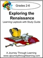 Exploring the Renaissance Lapbook with Study Guide--8.00