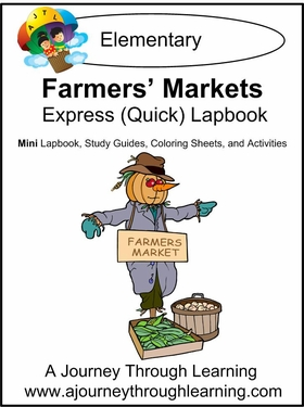 Farmers' Markets Express (Quick) Lapbook