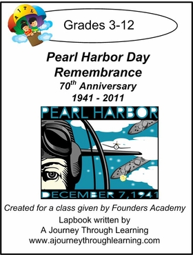 Founders Academy Pearl Harbor Day Remebrance Lapbook