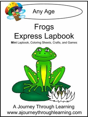 Frogs Express (Quick) Lapbook