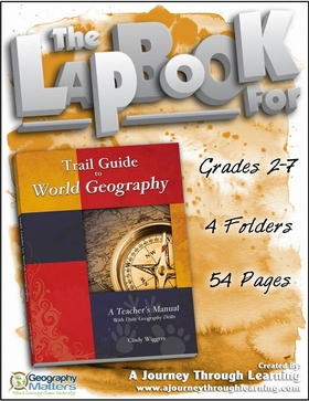 Geomatters Trail Guide to World Geography Lapbook