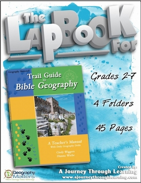 GeomattersTrail Guide to Bible Geography Lapbook