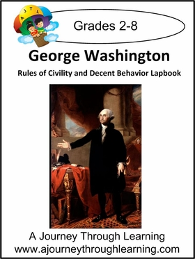 "George Washington's ""Rules of Civility and Decent Behavior"" Lapbook-8.00"