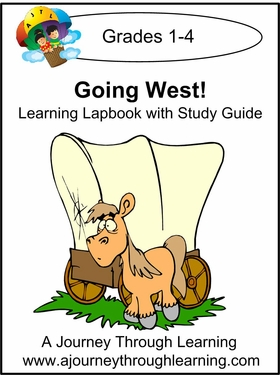 Going West Grades 1-4 Lapbook with Study Guide--8.00