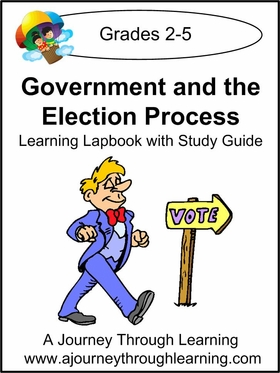 Government and the Election Process Grades 2-5 Lapbook-8.00