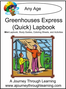 Greenhouses Express (Quick) Lapbook