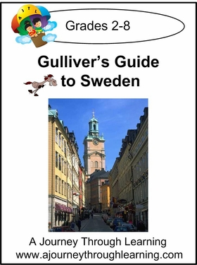 Gulliver's Guide to Sweden Lapbook