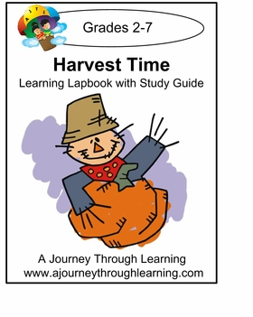 Harvest Fun Lapbook with Study Guide