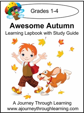 Awesome Autumn Lapbook with Study Guide