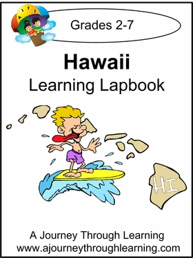 Hawaii State Study Lapbook--8.00