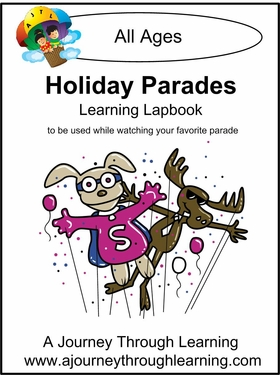 Holiday Parades Lapbook- 2.00