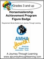 Horsemastership Achievement Program Figure Badge Level 4