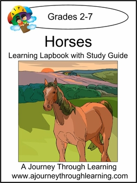 Horses Lapbook with Study Guide-8.00
