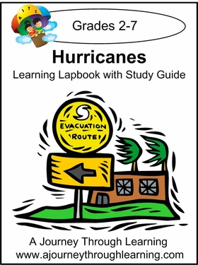 Hurricanes Lapbook with Study Guide