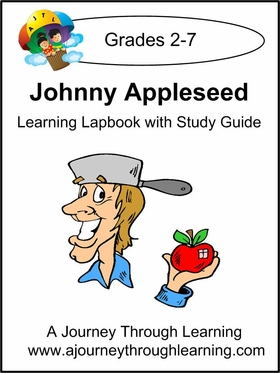 Johnny Appleseed Lapbook with Study Guide