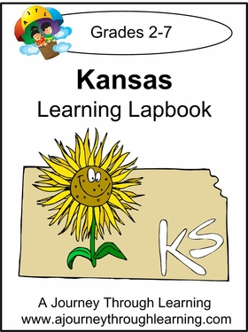 Kansas State Study Lapbook--8.00