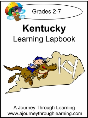 Kentucky State Study Lapbook--8.00