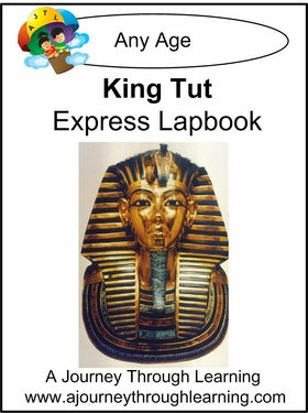 King Tut Express (Quick) Lapbook