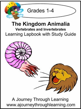 Vertebrates and Invertebrates Grades 1-4 w/ study guides--8.00