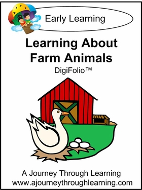 Learning About Farm Animals DigiFolio-4.50