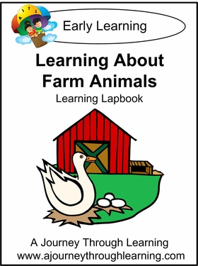 Learning about Farm Animals Lapbook--8.00