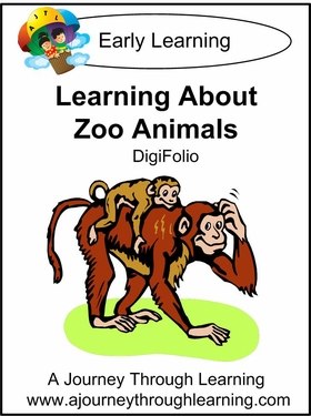 Learning About Zoo Animals DigiFolio-4.50