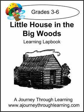 Little House in the Big Woods Lapbook-8.00