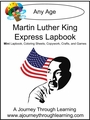 Martin Luther King Express (Quick) Lapbook