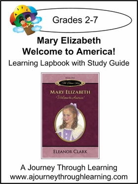 Mary Elizabeth: Welcome to America Lapbook (book 1)