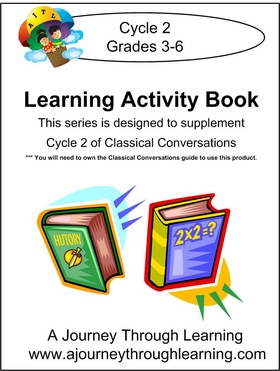 Classical Conversations Cycle 2 Learning Activity Book Instant Download