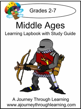 Middle Ages Lapbook with Study Guide--8.00