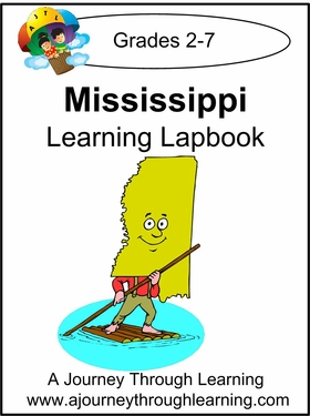 Mississippi State Study Lapbook--8.00