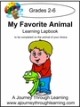 My Favorite Animal Lapbook (choose your own animal)-8.00