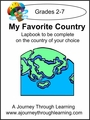 My Favorite Country Lapbook -8.00