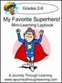 My Favorite Superhero Lapbook