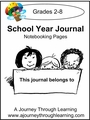 My School Year Journal Notebooking Pages-1.99