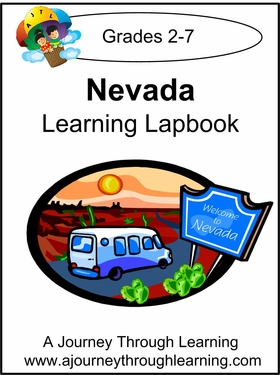 Nevada State Study Lapbook--8.00