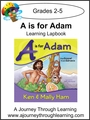 New Leaf Press- A is for Adam Lapbook-13.00
