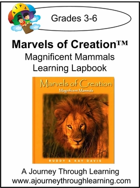 New Leaf Press- Marvels of Creation: Magnificent Mammals Lapbook-13.00