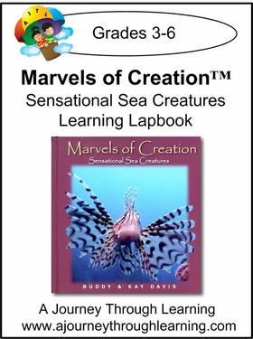 New Leaf Press- Marvels of Creation: Sensational Sea Creatures Lapbook-13.00
