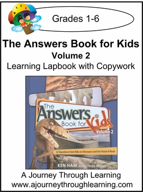 New Leaf Press-The Answers Book for Kids Volume 2 Lapbook