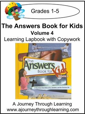 New Leaf Press-The Answers Book for Kids Volume 4 Lapbook